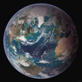 Planet Earth Western Hemisphere  NASA Satellite Composite