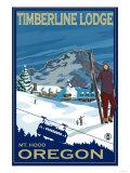 Timberline Lodge  Mt Hood  Oregon