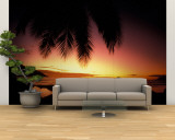 Tropical Sunset on Beauvallon Bay  Seychelles