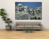 A Close View of Mount Rushmore