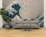 "The Great Wave Off Kanagawa  from the Series ""36 Views of Mt Fuji"" (""Fugaku Sanjuokkei"")"