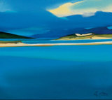 Luskentyre Blues Reproduction pour collectionneurs par Pam Carter