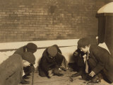 Playing Craps in the Jail Alley  Albany  New York  c1910