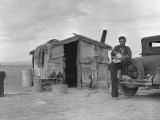 Migratory Mexican Field Worker's Home  Imperial Valley  California  c1937