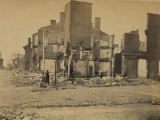 Ruins in Richmond  Virginia  c1865