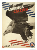 America Calling  Take Your Place in Civilian Defense  c1941