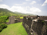 Brimstone Hill Fortress  Built 1690-1790  St Kitts  Caribbean
