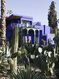 Villa Exterior  Jardin Majorelle and Museum of Islamic Art  Marrakech  Morocco