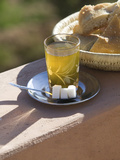 Mint Tea and Bread for Breakfast  Ait Benhaddou  South of the High Atlas  Morocco