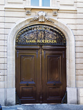Entrance to Champagne Louis Roederer  Reims  Champagne  Marne  Ardennes  France