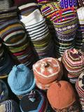 Berber Hats  Souqs of Marrakech  Marrakech  Morocco