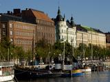 Overview of Helsinki from Harbor  Helsinki  Finland