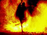 Fire Dancing  Bali  Indonesia
