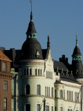 View of Building with Spires  Helsinki  Finland