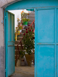 Doorway in Small Village  Cappadoccia  Turkey