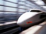 Shinkansen or Bullet Train  Osaka  Japan