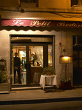 Restaurant Le Petit Bedon at Night  Avignon  Provence  Alpes Cote D Azur  France