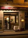 Restaurant Le Petit Bedon at Night  Avignon  Provence  Alpes Cote D Azur  France