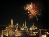 Emerald Palace During Commemoration of King Bumiphol's 50th Anniversary  Thailand
