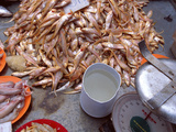 Grenadier Anchovies for Sale in Market  Malaysia