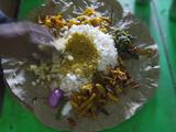Local Food on Dish  Orissa  India
