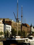 Sailing Ship on Inner Harbor  Helsinki  Finland