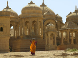 Bada Bagh with Royal Chartist and Finely Carved Ceilings  Jaisalmer  Rajasthan  India
