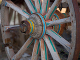 Cart and Cart Wheels in Cappadoccia  Turkey