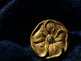 Gold Artifact from Tillya Tepe Find  Six Tombs of Bactrian Nomads  Afghanistan