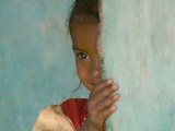 Portrait of Little Girl  Orissa  India