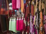 Tassles  the Souqs of Marrakech  Marrakech  Morocco