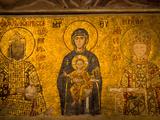 Interior of Hagia Sophia  Istanbul  Turkey