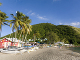Beach Bars at Frigate Bay Southside  St Kitts  Caribbean