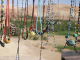 Moroccan Souvenir Jewelry  Ait Benhaddou  South of the High Atlas  Morocco