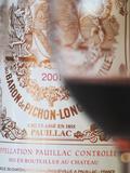 Glass of Wine  Chateau Baron Pichon Longueville  Pauillac  Medoc  Bordeaux  France