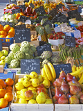 Market Stalls with Produce  Sanary  Var  Cote d'Azur  France