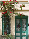 Village Doorway  Agiasos  Lesvos  Mytilini  Aegean Islands  Greece
