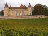 Medieval Chateau De Rully  Cote Chalonnaise  Bourgogne  France