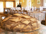 Loaf of Country Bread  Ferme De Biorne  Duck and Fowl Farm  Dordogne  France