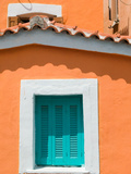 Building Detail  Pythagorio  Samos  Aegean Islands  Greece