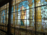 Chapultapec Castle  Gallery of Stained Glass Windows  Mexico