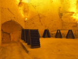 Wine Cellar  Old Chalk Quarry  Champagne Ruinart  Reims  Marne  Ardennes  France