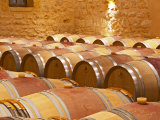 Wine Cellar  Barriques Barrels  Chateau Grand Mayne  Saint Emilion  Bordeaux  France