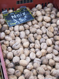 Walnuts at a Market Stall  Bergerac  Dordogne  France