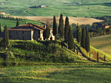 Europe  Italy A pastoral Tuscany villa in Val d'Orcia