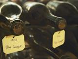 Wine Cellar and Bottles of Clos De Vougeot  France