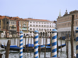 View of the Grand Canal and Buildings  Venice  Italy