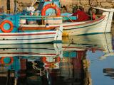 Fishing Port  Lesvos  Mithymna  Northeastern Aegean Islands  Greece