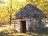 Country Hut of Stone (Borie)  Truffiere De La Bergerie  Ste Foy De Longas  Dordogne  France