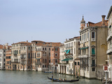 View of Gondola on the Grand Canal  Venice  Italy